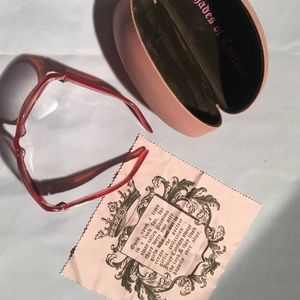 Genuine Juicy Couture sunglasses with case!! EUC